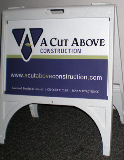 A Cut Above Construction