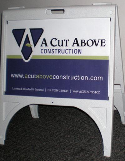 A Cut Above Construction