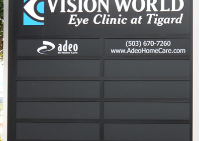 Adeo, Eye Clinic at Tigard