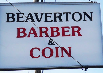 Beaverton Barber & Coin