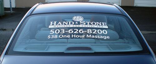 Hand Stone Massage