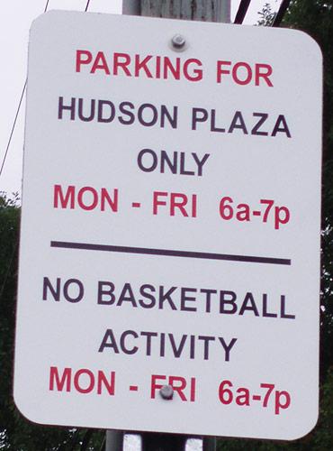 Parking Sign